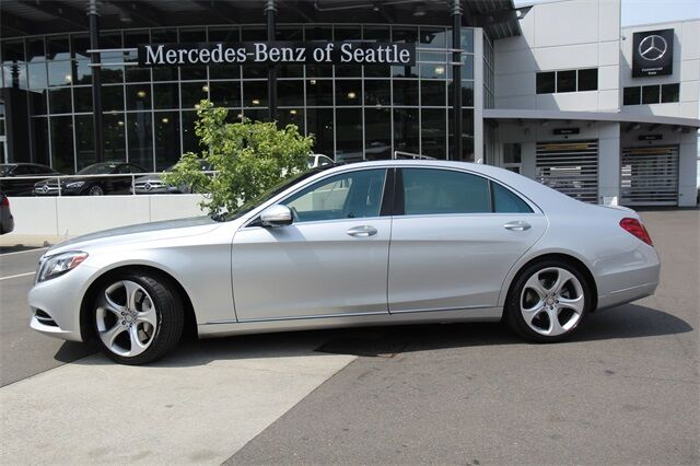 2014 Mercedes Benz S Class S 550 Seattle WA ...