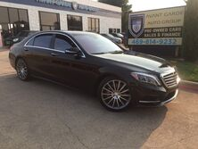 Mercedes-Benz S550 AMG SPORT NAVIGATION CAMERAS, PANORAMIC ROOF, KEYLESS GO, DISCTRONIC, PARKING AID, SHADES, HEATED/COOLED LEATHER!!! HARD LOADED!!! VERY CLEAN!!! 2014