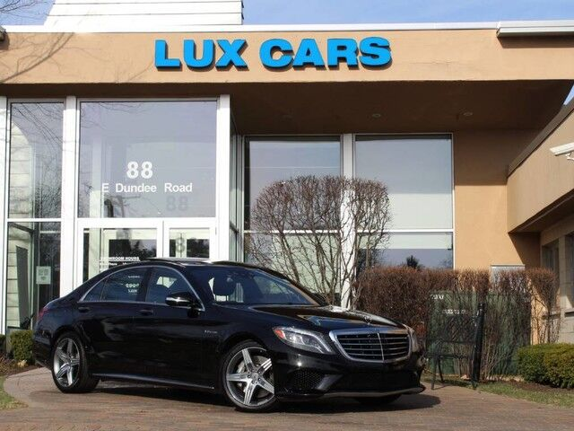 2014_Mercedes-Benz_S63_AMG PANOROOF NIGHT VISION 4MATIC MSRP $153,045_ Buffalo Grove IL