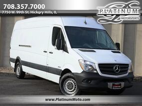 Mercedes-Benz Sprinter Cargo Vans EXT HighTop 1 Owner 2 Keys Book Shelves 2014