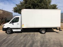2014_Mercedes Benz_Sprinter Chassis-Cabs_3500 Diesel Dual Rear Wheel Box Truck 16ft x 7.5ft Box_ Mansfield TX