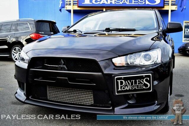 2014 Mitsubishi Lancer Evolution MR / AWD / Automatic / Recaro Seats / BBS  Wheels ...