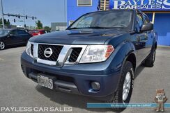 2014_Nissan_Frontier_SV / 4X4 / Crew Cab / Automatic / Cruise Control / Power Windows & Locks / Aux & USB Jacks / Bed Liner / Tow Pkg_ Anchorage AK