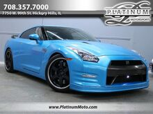 2014_Nissan_GT-R Black Edition_Vinyl Wrapped Blue Exhaust Lowered_ Hickory Hills IL