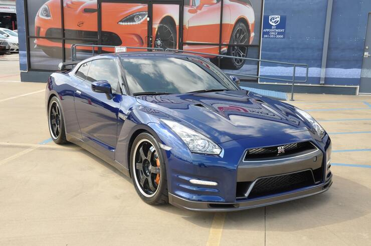 2014 Nissan GT R Stage 1 Performance Track Edition With Mods Tomball TX