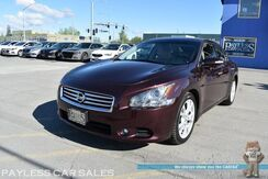 2014_Nissan_Maxima_SV Premium / Heated & Cooled Leather Seats / Heated Steering Wheel / Bose Speakers / Navigation / Sunroof / Bluetooth / Back Up Camera / Keyless Entry & Start / Aluminum Wheels / 26 MPG / Low Miles_ Anchorage AK