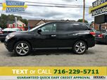 2014 Nissan Pathfinder S 4WD w/Heated Leather & 3rd Row Seat