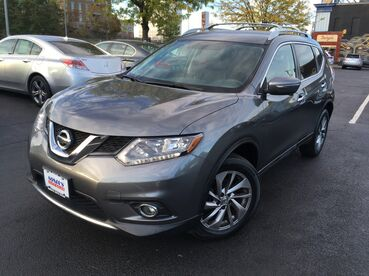 2014_Nissan_Rogue_SL_ Worcester MA