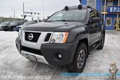 2014 Nissan Xterra Pro-4X / 4X4 / Automatic / Heated Leather Seats / Navigation / Rocksford Fosgate Speakers / Bluetooth / Back Up Camera / Luggage Rack / Running Boards / Cruise Control / 1-Owner