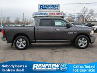 Ram 1500 4WD SLT CREW, 5.7L V8, 8-Speed Auto, 20 Inch Wheels 2014