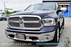 2014_Ram_1500_Longhorn / 4X4 / Crew Cab / Air Suspension / Heated & Cooled Leather Seats / Navigation / Sunroof / Alpine Speakers / Auto Start / Back Up Camera / Tow Pkg_ Anchorage AK