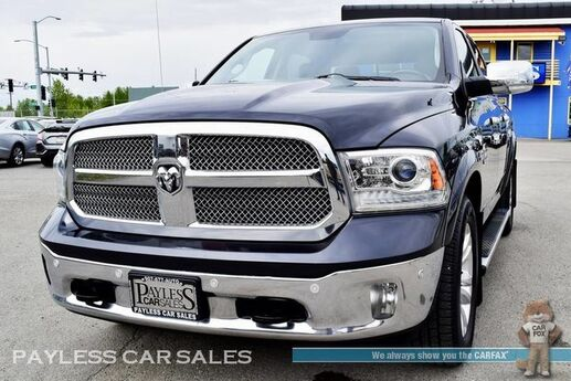 2014 Ram 1500 Longhorn / 4X4 / Crew Cab / Air Suspension / Heated & Cooled Leather Seats / Rear Heated Seats / Heated Steering Wheel / Navigation / Sunroof / Alpine Speakers / Auto Start / Back Up Camera / Tow Pkg Anchorage AK