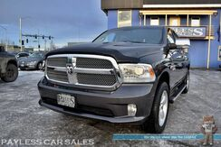 2014_Ram_1500_Longhorn Limited / 4X4 / Air Suspension / 5.7L HEMI V8 / Crew Cab / Auto Start / Heated & Cooled Leather Seats / Heated Steering Wheel / Navigation / Sunroof / Alpine Speakers / Bluetooth / Back Up Camera / Bed Liner / Tow Pkg_ Anchorage AK