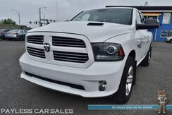 2014_Ram_1500_Sport / 4X4 / Quad Cab / 5.7L V8 HEMI / Heated & Ventilated Leather Seats / Heated Steering Wheel / Navigation / Sunroof / Alpine Speakers & Subwoofer / Auto Start / Bluetooth / Back Up Camera / Tow Pkg / 1-Owner_ Anchorage AK