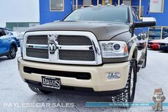 2014_Ram_2500_Longhorn / 4X4 / Mega Cab / 6.7L Cummins Turbo Diesel / Heated & Ventilated Leather Seats / Heated Steering Wheel / Navigation / Sunroof / Auto Start / Alpine Speakers & Subwoofer / Bluetooth / Back-Up Camera / Tow Pkg / 1-Owner_ Anchorage AK