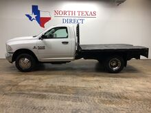 2014_Ram_3500_Tradesman 4X4 Single Cab Flat Bed Dually 6.7 Diesel_ Mansfield TX