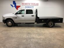 2014_Ram_3500_Tradesman DRW 4x4 Diesel Crew Skirted Flat Bed Touch Screen_ Mansfield TX