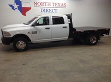 2014_Ram_3500_Tradesman Dually 4x4 Diesel Aisin Flatbed Touch Screen_ Mansfield TX
