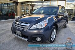 2014_Subaru_Outback_2.5i Limited / AWD / Auto Start / Heated Leather Seats / Sunroof / Harman Kardon Speakers / Bluetooth / Back Up Camera / Cruise Control / Block Heater / 30 MPG_ Anchorage AK