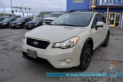 2014_Subaru_XV Crosstrek_Limited / AWD / Heated Leather Seats / Bluetooth / Back Up Camera / Cruise Control / Aluminum Wheels / 33 MPG_ Anchorage AK