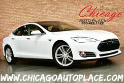 2014_Tesla_Model S_60 kWh Battery - 1 OWNER SUBZERO PACKAGE NAVIGATION BACKUP CAMERA PARKING SENSORS PANORAMIC ROOF OBECHE WOOD TRIM XENONS_ Bensenville IL