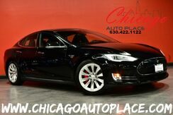 2014_Tesla_Model S_P85D - DUAL MOTOR AUTOPILOT CONVENIENCE FEATURES ALL WHEEL DRIVE NAVIGATION PARKING SENSORS AIR SUSPENSION SUBZERO PACKAGE BLACK LEATHER BACKUP CAMERA PANO ROOF XENONS_ Bensenville IL