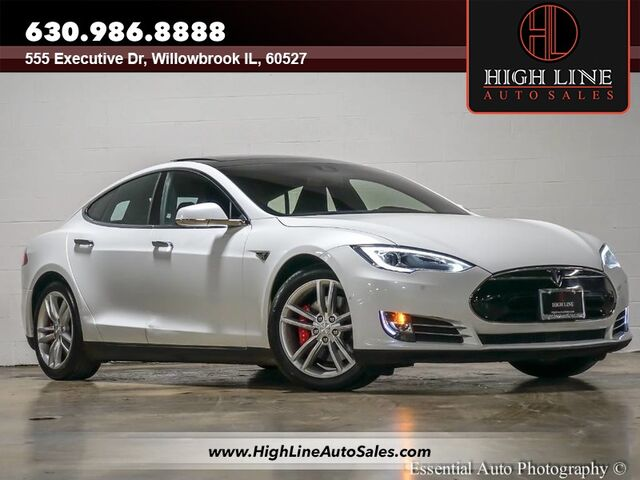 Tesla Model S PD INSANE MODE Willowbrook IL - 2014 tesla model s