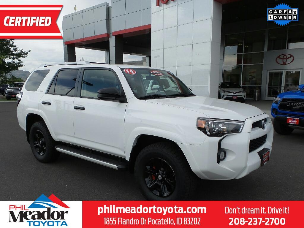 Phil Meador Toyota >> 2014 Toyota 4runner Sr5