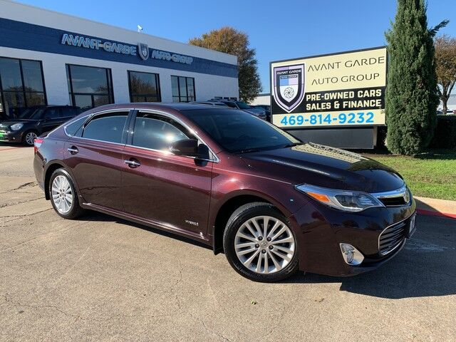 2014 Toyota Avalon Hybrid Limited NAVIGATION REAR VIEW CAMERA, HEATED/COOLED LEATHER, LANE CHANGE WARNING, JBL PREMIUM SOUND, SUNROOF!!! ALL OPTIONS!!! BEAUTIFUL COLOR COMBO!!! ONE LOCAL OWNER!!! Plano TX