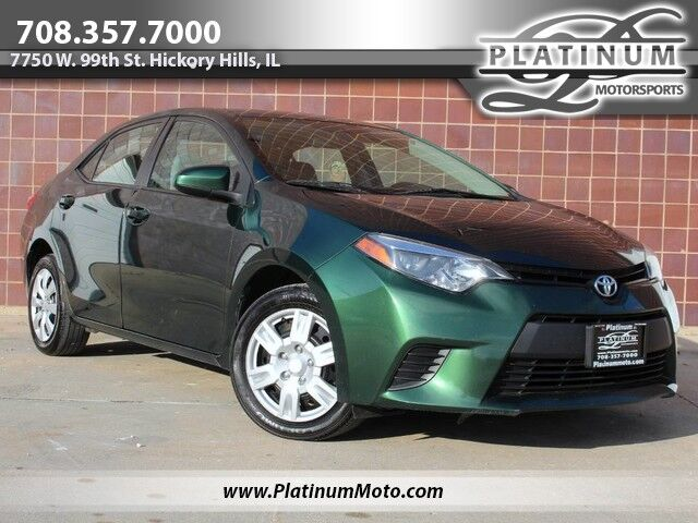2014 Toyota Corolla LE Rear Camera Bluetooth Hickory Hills IL