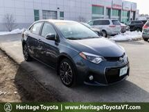 2014 Toyota Corolla S Plus South Burlington VT