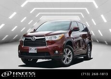 2014_Toyota_Highlander_LE_ Houston TX