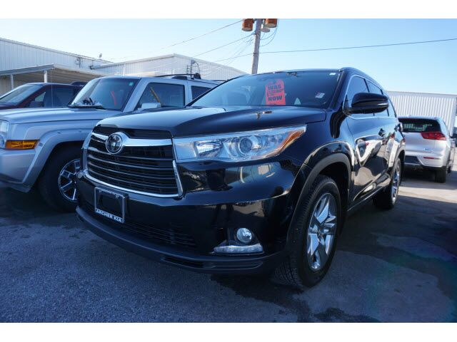 2014 Toyota Highlander Limited Platinum Houston TX