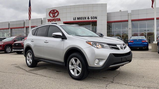 Used 2014 Toyota Rav4 Xle In Green Bay Wi