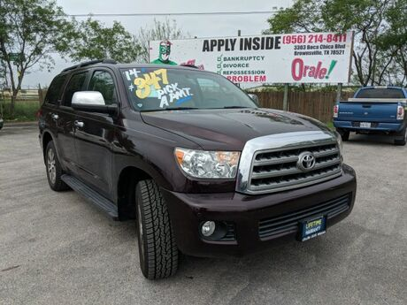 2014 Toyota Sequoia Limited Mission TX