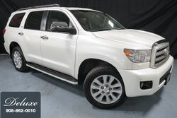 Toyota Sequoia Platinum 5.7L 4WD / Rear Seat DVD/ Blind Spot Monitor/ Third Row 2014