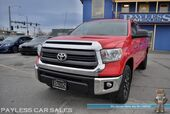 2014 Toyota Tundra 4WD Truck SR5 / TRD Off-Road Pkg / 4X4 / 5.7L V8 / Crew Cab / Seats 6 / Bluetooth / Back Up Camera / Cruise Control / Air Conditioning / USB & AUX Jacks / Bed Liner / Tow Pkg