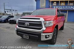 2014_Toyota_Tundra 4WD Truck_SR5 / TRD Off-Road Pkg / 4X4 / 5.7L V8 / Crew Cab / Seats 6 / Bluetooth / Back Up Camera / Cruise Control / Air Conditioning / USB & AUX Jacks / Bed Liner / Tow Pkg_ Anchorage AK