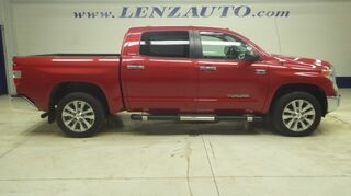 Toyota Tundra 4x4 Crew Cab Limited: 5.7L-SHORT-NAV-MOON-REVERSE CAMERA-JBL-LEATHER-CD PLAYER-4X4-1 OWNER 2014