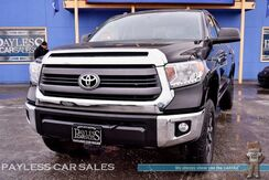 2014_Toyota_Tundra_SR5 / 4X4 / Crew Max / 5.7L V8 / Automatic / Power Driver's Seat / Auto Start / Bluetooth / Back-Up Camera / Bed Liner / Block Heater / Tow Pkg_ Anchorage AK