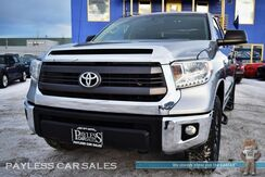 2014_Toyota_Tundra_SR5 / TRD Off Road Pkg / 4X4 / Crew Max / 5.7L V8 / Power Driver's Seat / Navigation / Bluetooth / Back Up Camera / Tonneau Cover / Tow Pkg / 1-Owner_ Anchorage AK
