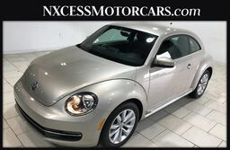 Volkswagen Beetle Coupe 2.0L TDI 1 OWNER CLEAN CARFAX LOW MILES 2014
