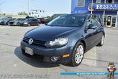 2014 Volkswagen Golf TDI / Automatic / Turbo Diesel / Heated Seats / Navigation / Sunroof / Bluetooth / Cruise Control / 42 MPG