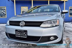 2014_Volkswagen_Jetta Sedan_2.0 TDI Premium / Automatic / Turbo Diesel / Heated & Power Leather Seats / Navigation / Sunroof / Fender Speakers / Bluetooth / Cruise Control / 42 MPG / 1-Owner_ Anchorage AK