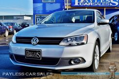2014_Volkswagen_Jetta Sedan_TDI Premium / 2.0L Turbo Diesel / Automatic / Power & Heated Leather Seats / Navigation / Sunroof / Fender Speakers / Bluetooth / Back-Up Camera / 42 MPG / 1-Owner_ Anchorage AK