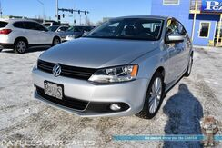 2014_Volkswagen_Jetta Sedan_TDI / Turbo Diesel / Automatic / Heated Leather Seats / Navigation / Sunroof / Bluetooth / Cruise Control / 42 MPG / Low Miles / 1-Owner_ Anchorage AK