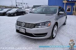 2014_Volkswagen_Passat_TDI SE / 2.0L Turbo Diesel / Automatic / Power & Heated Leather Seats / Sunroof / Bluetooth / Back Up Camera / Aluminum Wheels / 40 MPG / Only 20K Miles / 1-Owner_ Anchorage AK