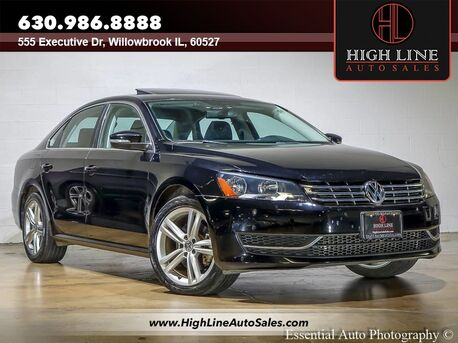 2014_Volkswagen_Passat_TDI SE w/Sunroof_ Willowbrook IL