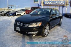 2014_Volkswagen_Passat_TDI SEL Premium / Turbo Diesel / Auto Start / Heated Leather Seats / Fender Speakers / Navigation / Sunroof / 40 MPG / 1-Owner_ Anchorage AK