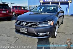 2014_Volkswagen_Passat_TDI SEL Premium / Turbo Diesel / Auto Start / Heated Leather Seats / Sunroof / Navigation / Bluetooth / Back Up Camera / 40 MPG_ Anchorage AK